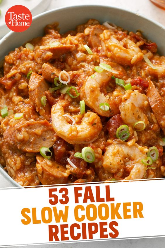 53 Fall Slow Cooker Recipes You'll Want to Make Now