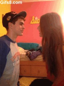 Do You Wanna Kiss Me? Click To Find Out What Happens! hahahahahah I almost peed.
