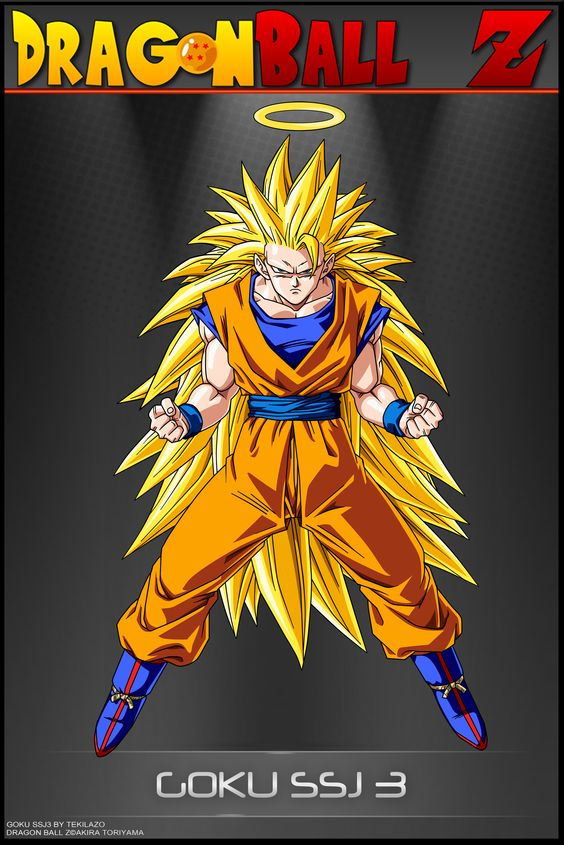Dragon Ball Z Goku SSJ 3 By DBCProjectdeviantartcom