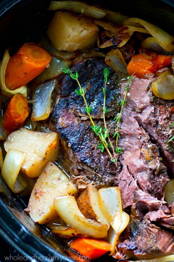 onions, and plenty of other veggies make this tender pot roast ...