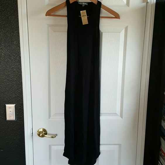 Dont ask why tight midi dress Black midi dress with cut out back . brand new with original tags. One size . super sexy dress American Eagle Outfitters Dresses Midi