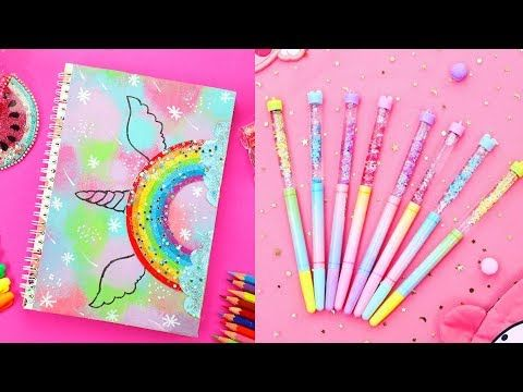 5 Easy Diy School Supplies Cheap Diy Crafts For Back To School With Diy Lover 11 Youtube Videok