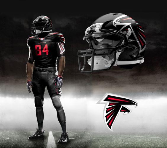 NFL Jerseys - Nike NFL Pro Combat Uniform Concepts by Brandon Moore, via Behance ...