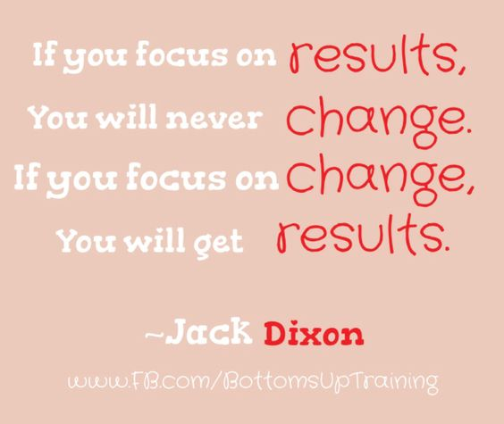 Change=Results