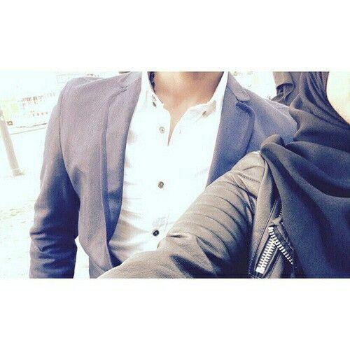 Couple Muslim Dz Love Photo Profile Girl Hijab Couples Mignons