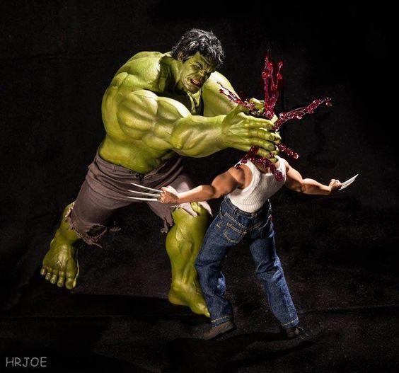 Súper héroes de acción!!