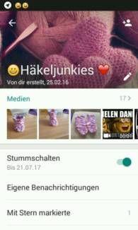 Whatsapp Gruppe häkeln sucht Zuwachs in Bayern - Helmbrechts | Basteln, Handarbeiten und Kunsthandwerk | eBay Kleinanzeigen