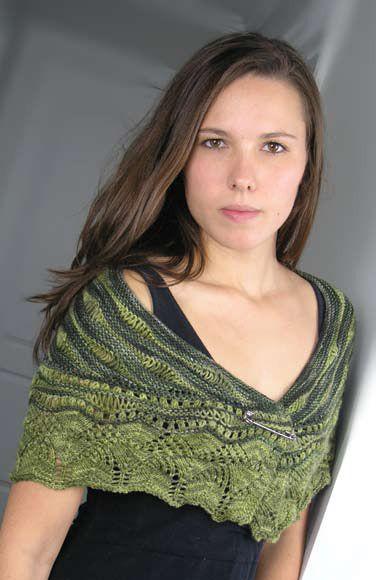 Sea Lettuce Shawl in Knit One Crochet Too Crock-O-Dye - 2026
