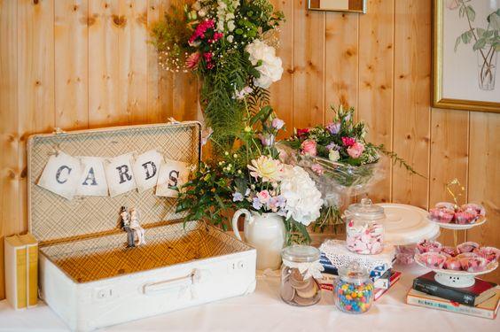 Rustical Wedding Candy Bar Cards Box Hochzeit - CHARMEWEDD