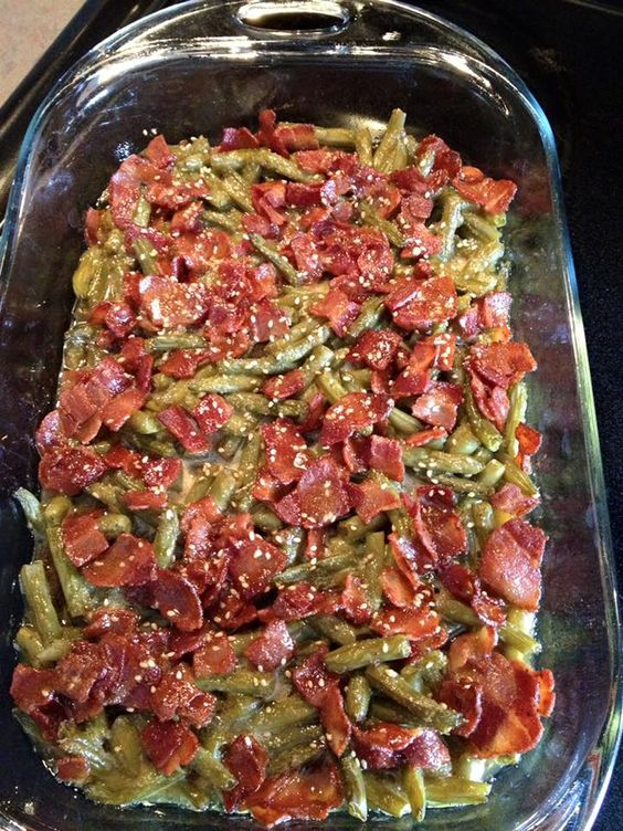 CRACK GREEN BEANS ( because they are so addictive). beans, drained (note: you…