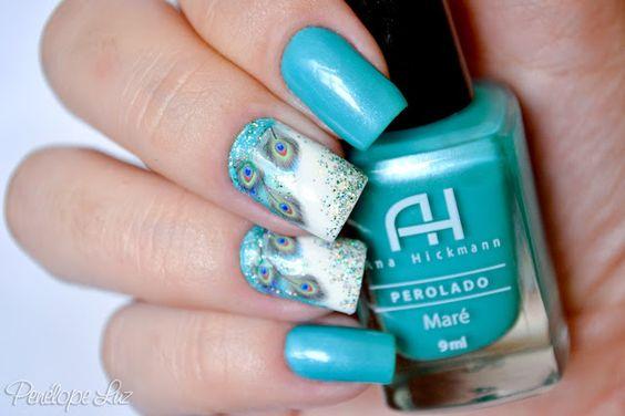 Penélope luz #nail #nails #nailart