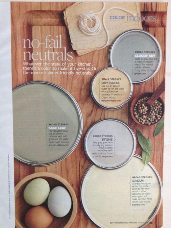 No fail neutrals pain color home projects pinterest for Neutral cream paint color