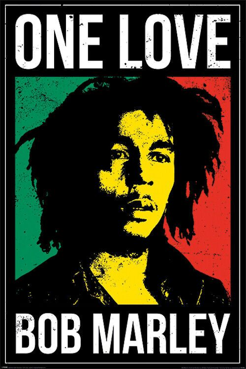 Bob Marley One Love Poster 24x36 Music 53124 Poster Music Postermusic Poster Art 9 95 End Date Bob Marley Poster Bob Marley Music Bob Marley Art