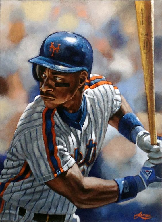 My Darryl Strawberry painting. Darryl Eugene Strawberry (born March 12, 1962) is a former American Major League Baseball outfielder. Strawberry was well known for his play on the field and for his...
