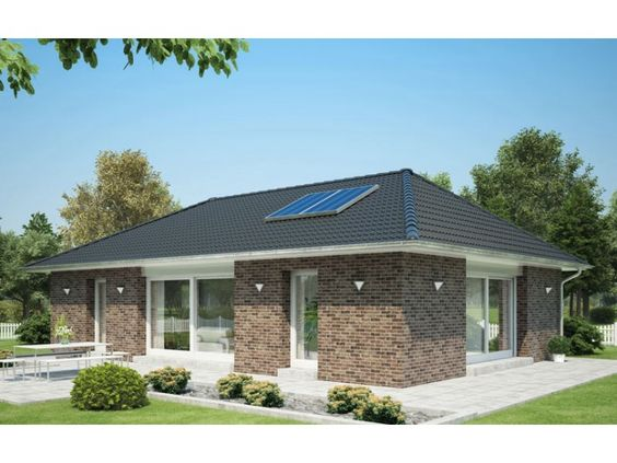 Cumulus einfamilienhaus von heinz von heiden for Massivhaus bungalow