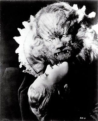 La belle et La Bete - I love Cocteau's version of this movie.  So romantic, but so creepy!