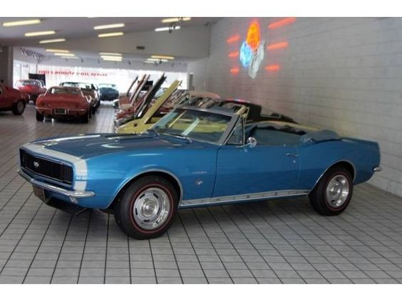 1967 Chevrolet Camaro Convertible Camaro Convertible Muscle
