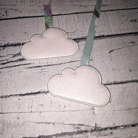Beautiful, sparkly clouds by @thesewistlife #creative #art #diy #homemade #