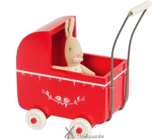 Maileg Puppenwagen