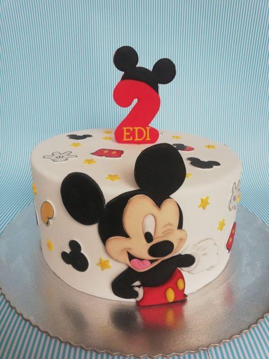 Winking Mickey Mouse Mickey Birthday Cakes Mickey Mouse