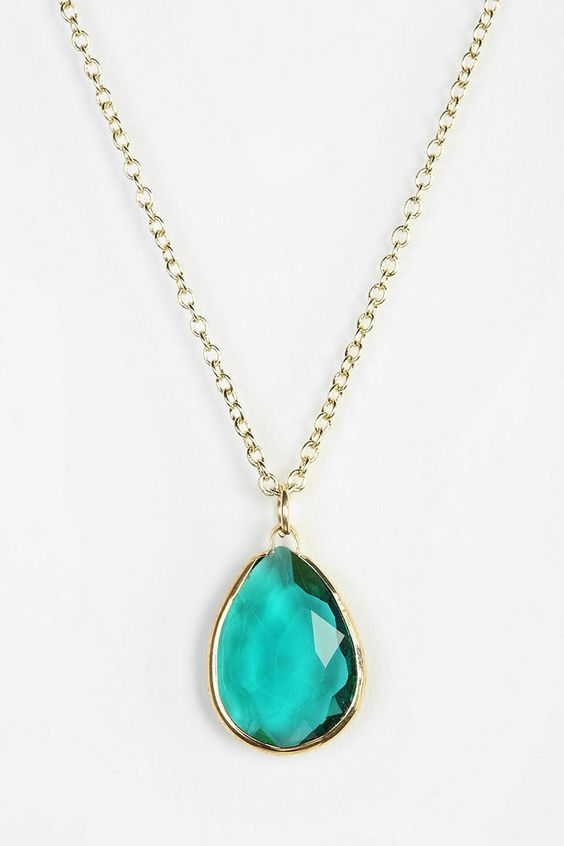 Sea Stone Necklace, Urban Outfitters