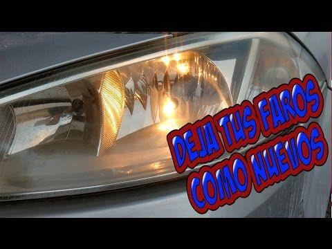 Como Pulir Tus Faros Paso A Paso Youtube Auto Foco Carros Y Motos Mecanica Automotriz