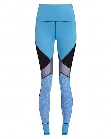 "Sweaty Betty - ""Urdhva"" Leggings. These Reversible Yoga Leggings are perfect for travelling. Seriously stretchy, flattering, and comfortable, they will take you from flight to mat, and back again. Team them with a slouchy grey turtle neck and loose t-shirt for the ultimate cool girl off duty look! See more here: http://luxurybackpack.com/"