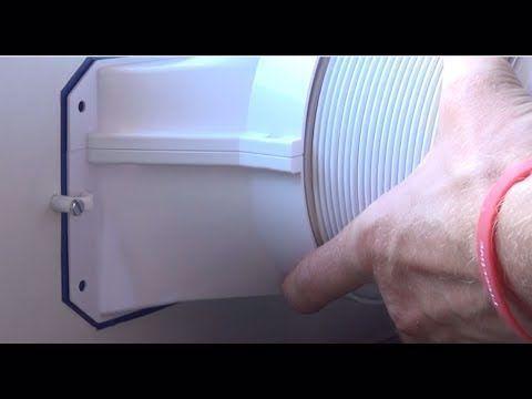 Diy Ac Airlock Hot Air Stop Abluftschlauch Im Fenster Klimagerat Schlauch Fensterdurchfuhrung Youtube In 2020 Air Hose Vertical Wall Planter Pots Diy