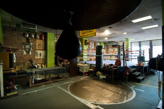 Inside Joe Frazier's gym (Photo: © The National Trust for Historic Preservation / Pete Marovich):