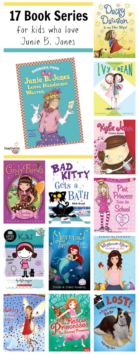 17 Book Series for Kids Who Like Junie B. Jones (but without the bad grammar and sass!) :)
