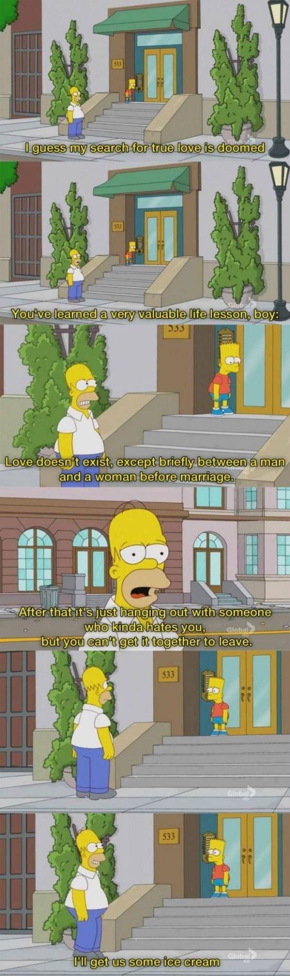 The Simpson's harsh truth