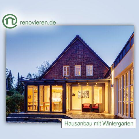 Wir hätten gerne einen Wintergarten, und Ihr? Gerade wenn es draußen kalt wird, eine tolle Sache, oder? http://www.renovieren.de/ratgeber-fassade/hausanbau-mit-wintergarten