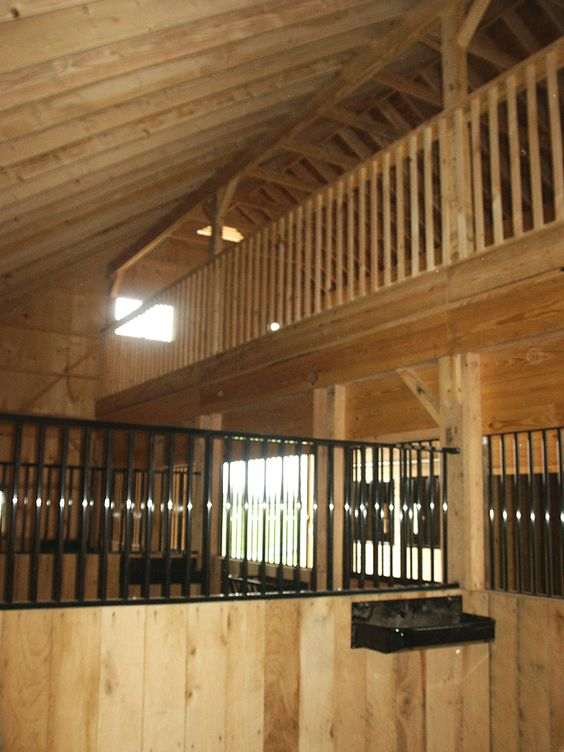 Stalls Loft And Horses On Pinterest