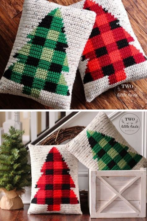 25 Christmas Tree Crochet Patterns Including The Cutest Cat Christmas Crochet Patterns Christmas Crochet Crochet Projects