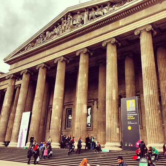 British Museum is not just a British Museum for me, so I have to see and touch it all! :D