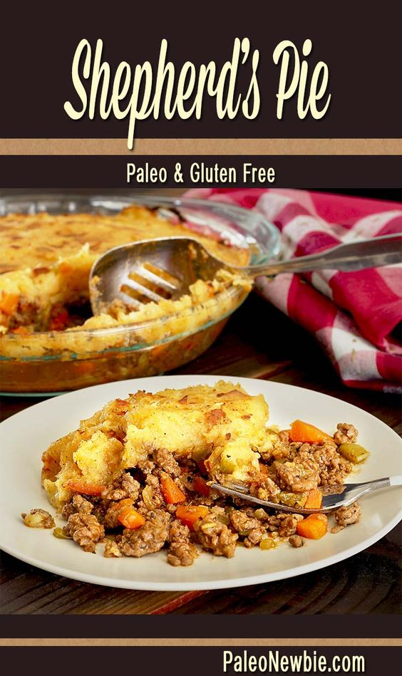 Paleo shepherd s pie recipe sweet potato toppings for Cold weather meals recipes