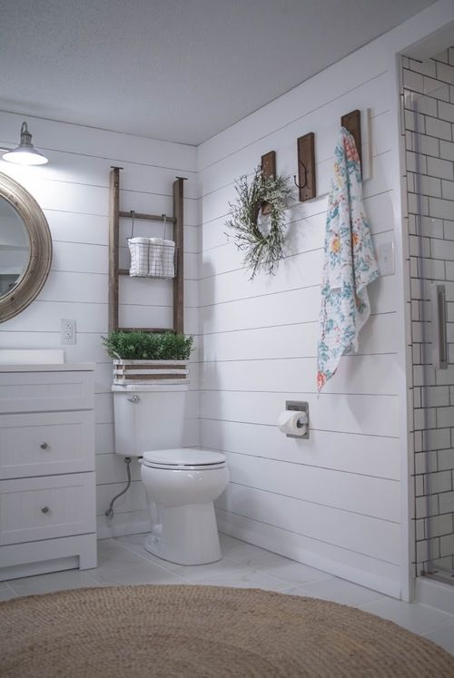 Before And After Bathroom Remodel With Lowes Tessa Kirby Blog Small Bathroom Makeover Bathrooms Remodel Bathroom Design