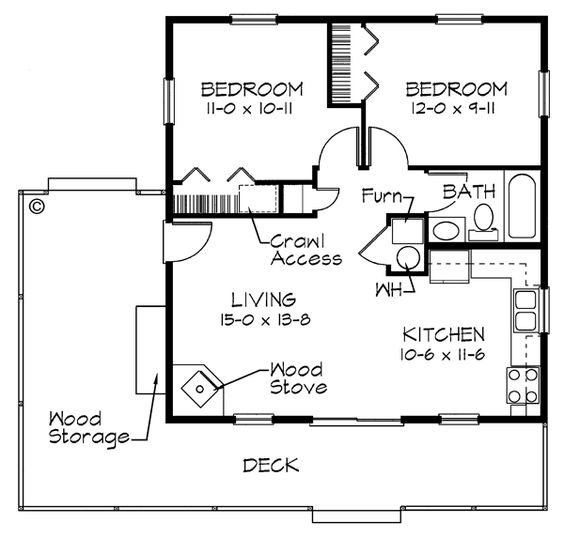 Remarkable House Plan Chp 30197 At Coolhouseplans Com Number Of Bedrooms 2 Largest Home Design Picture Inspirations Pitcheantrous