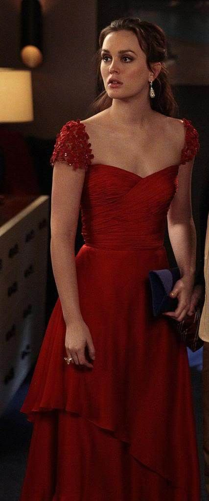 Gossip Girl's Blair Waldorf, Reem Acra.