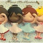 Lembrancinhas de bailarina para nascimentos, chás de bebê e festas infantis!
