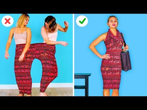 Genius Clothes Hacks And Girly Tricks Funny Crafts By 123 Go