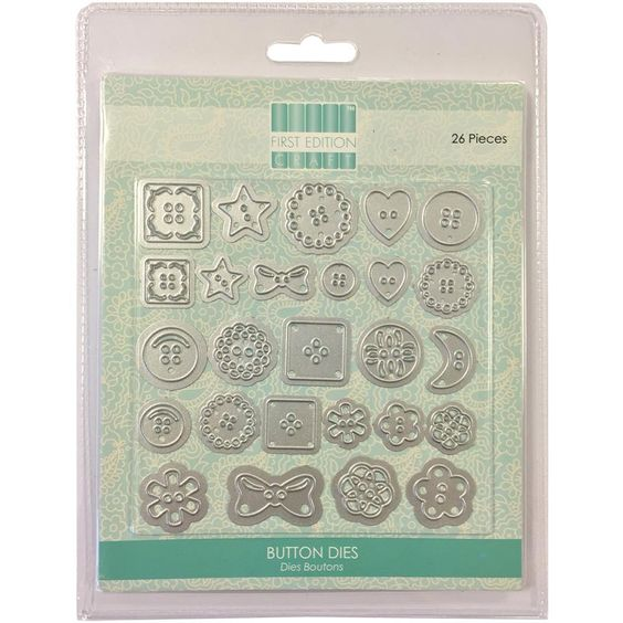 Scrapbook Generation - First Edition Craft Dies: Buttons, $19.49 (http://scrapbookgeneration.com/first-edition-craft-dies-buttons/)
