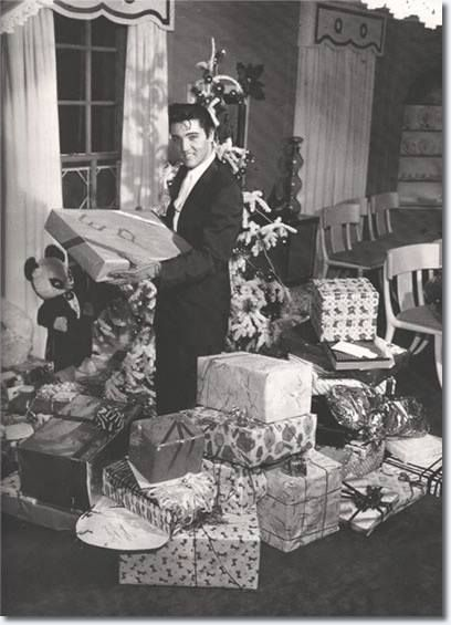 Merry Christmas with Elvis..