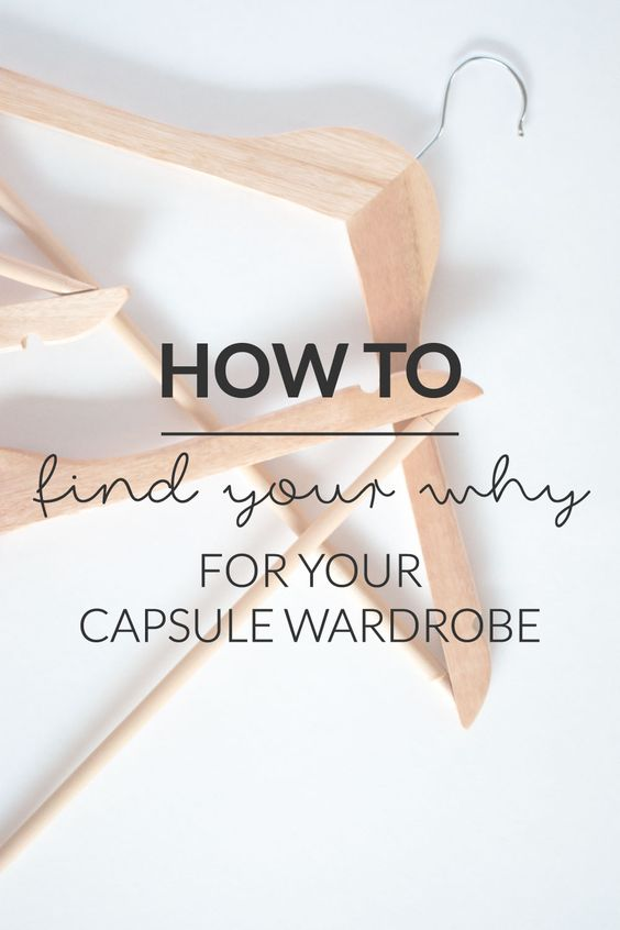"How To Find Your Why For Your Capsule Wardrobe | Cat On The Moon - ""A thoughtful style blog for a simple life."" (www.catonthemoon.xyz)"