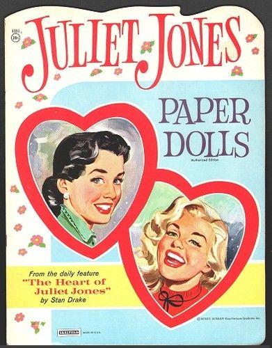Juliet Jones Paper Dolls 1964