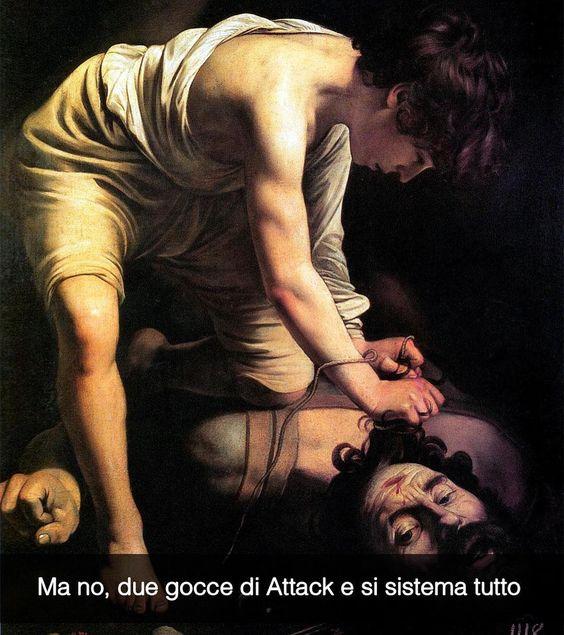 Sto per iniziare la #caravaggioexperience Palazzo delle Esposizioni su Snapchat: stefanoguerrera  Davide e Golia - Caravaggio (1597)