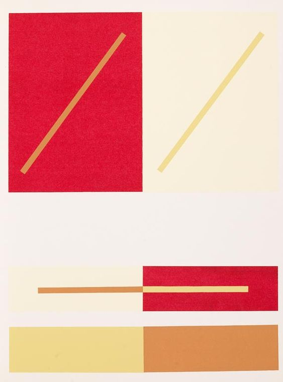 Josef Albers - Interaction of color,  1963