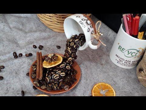 Floating Coffee Cup Decor ديكور شلال القهوة بمواد طبيعية Youtube Beer Steins Glassware Tableware