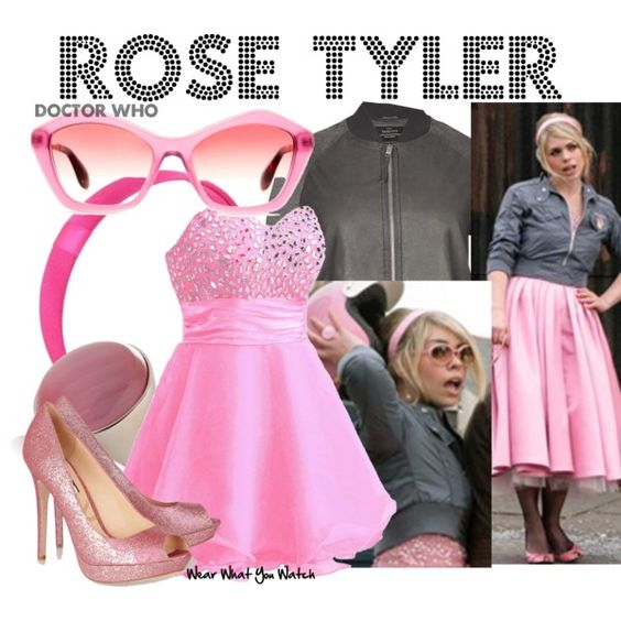 """""""Rose Tyler (Doctor Who)"""" by kerogenki on Polyvore"""