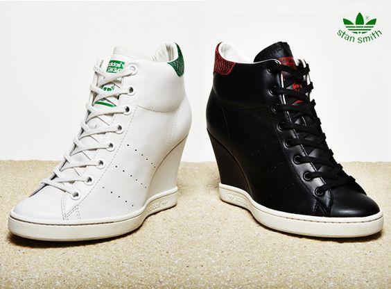 Baskets Adidas Stan Smith UP : Edition Limitée Talons Hauts
